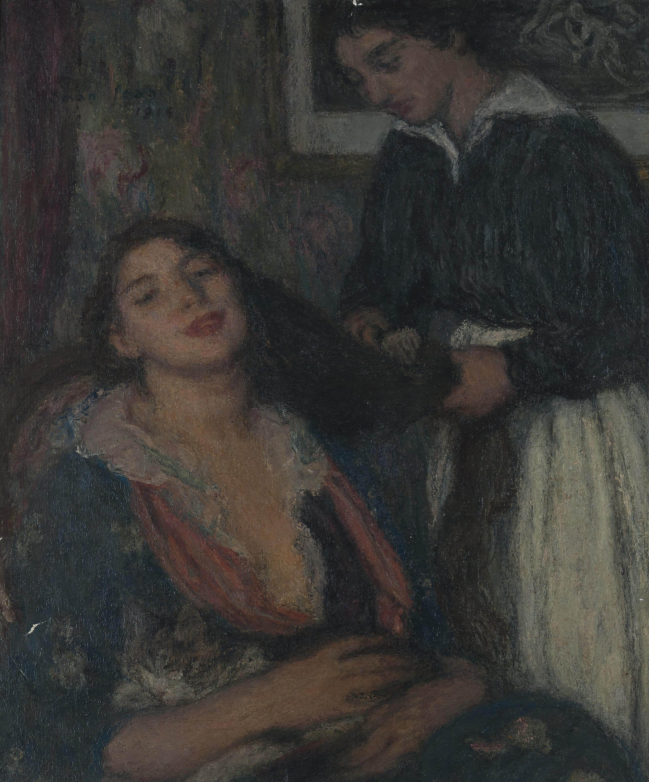 Edmond François Aman-Jean (France, 1860-1936)