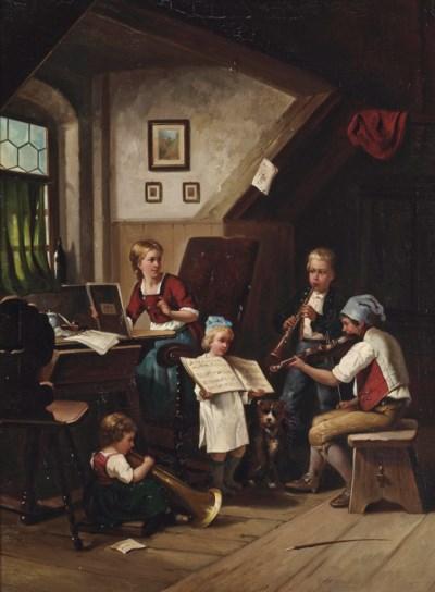 Circle of Auguste Heyn (German