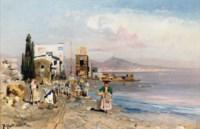 Fisherfolk on the Neapolitan coast