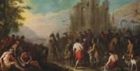 Joseph sold into slavery to the Ishmaelites