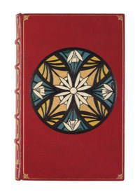 TOLKIEN, John Reginald Reuel (1892-1973). The Silmarillion. London, Boston & Sidney: George Allen & Unwin, 1977. 8° (215 x 135mm). 2 maps, of which one folding. Modern red morocco for Asprey and Garrard with multi-colour onlays on covers, spine gilt, gilt edges.