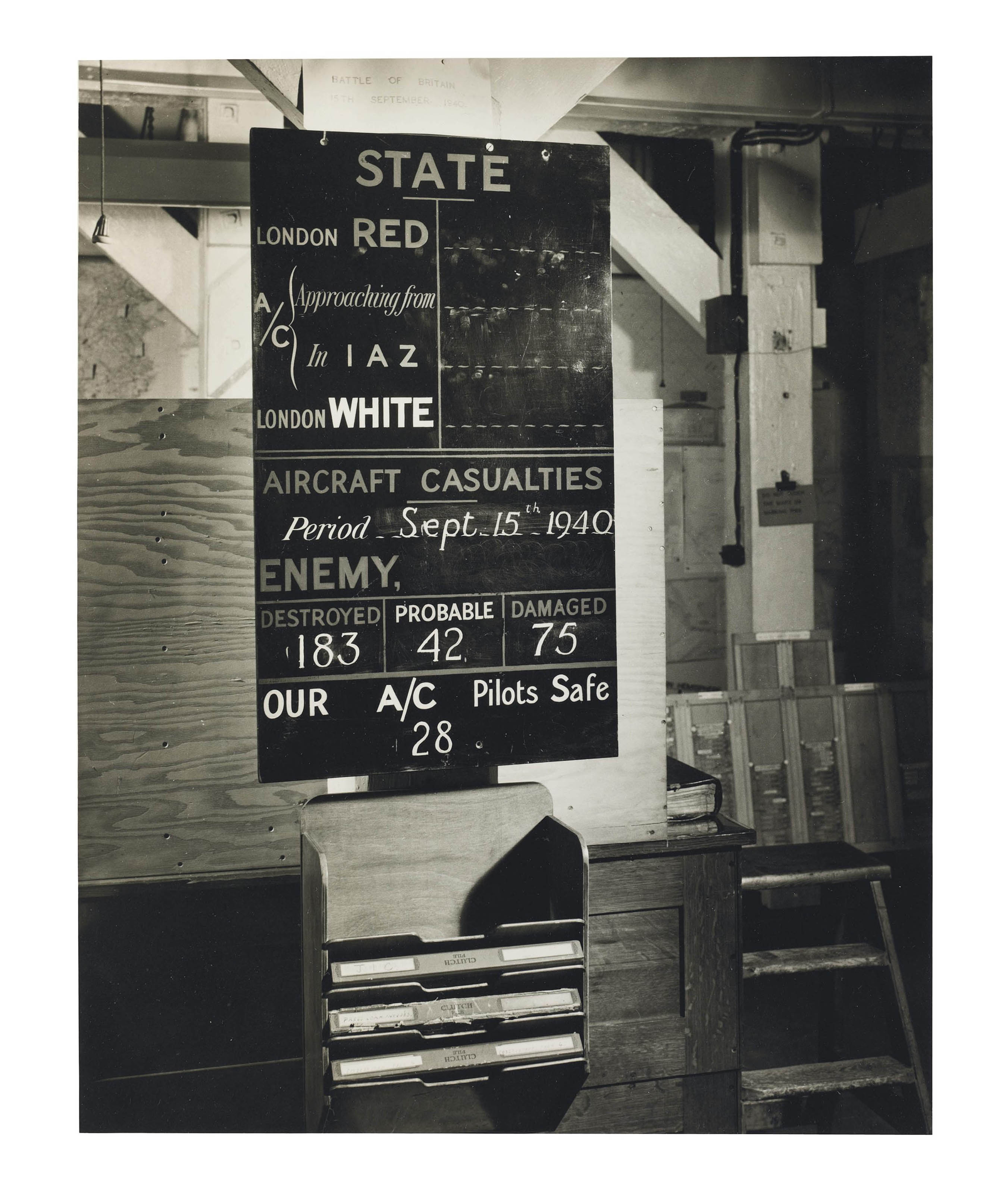 CABINET WAR ROOMS. 'War Cabine