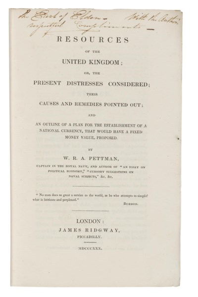 BURGESS, Henry. A Petition to