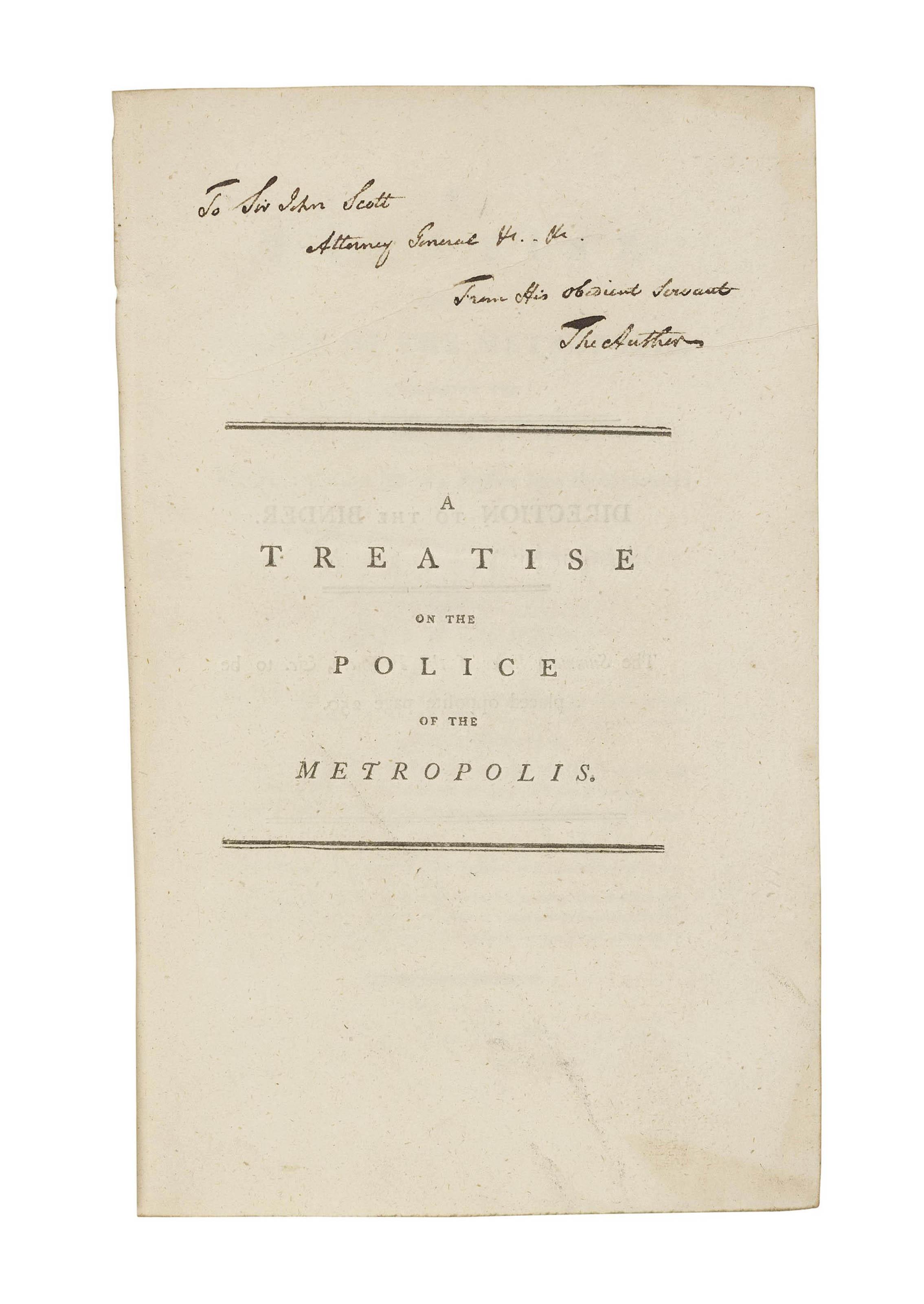 [COLQUHOUN, Patrick (1745-1820