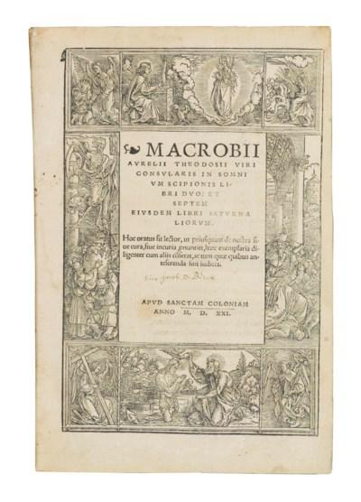 MACROBIUS, Ambrosius Theodosiu