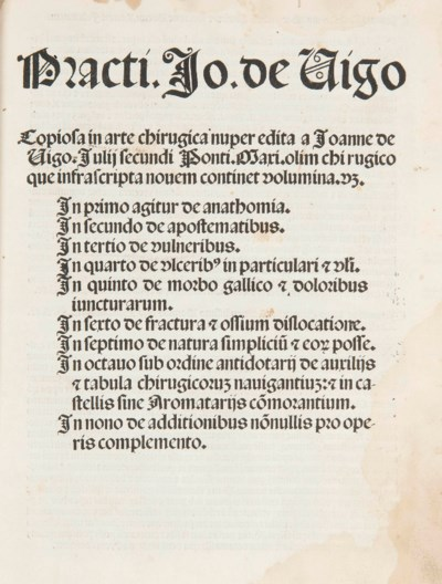 VIGO, Johannes de (c.1450-1525