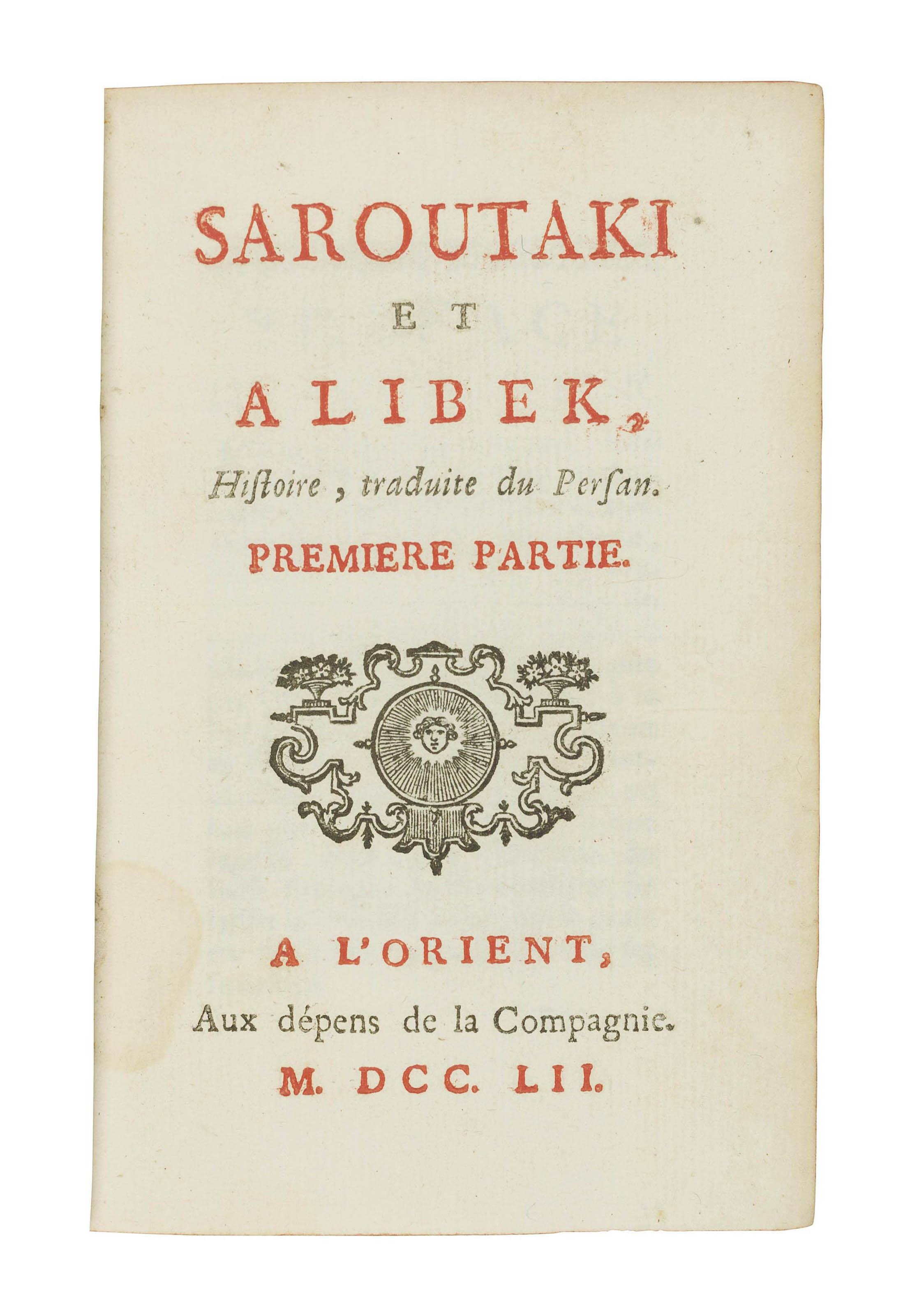 Saroutaki et Alibek, histoire,