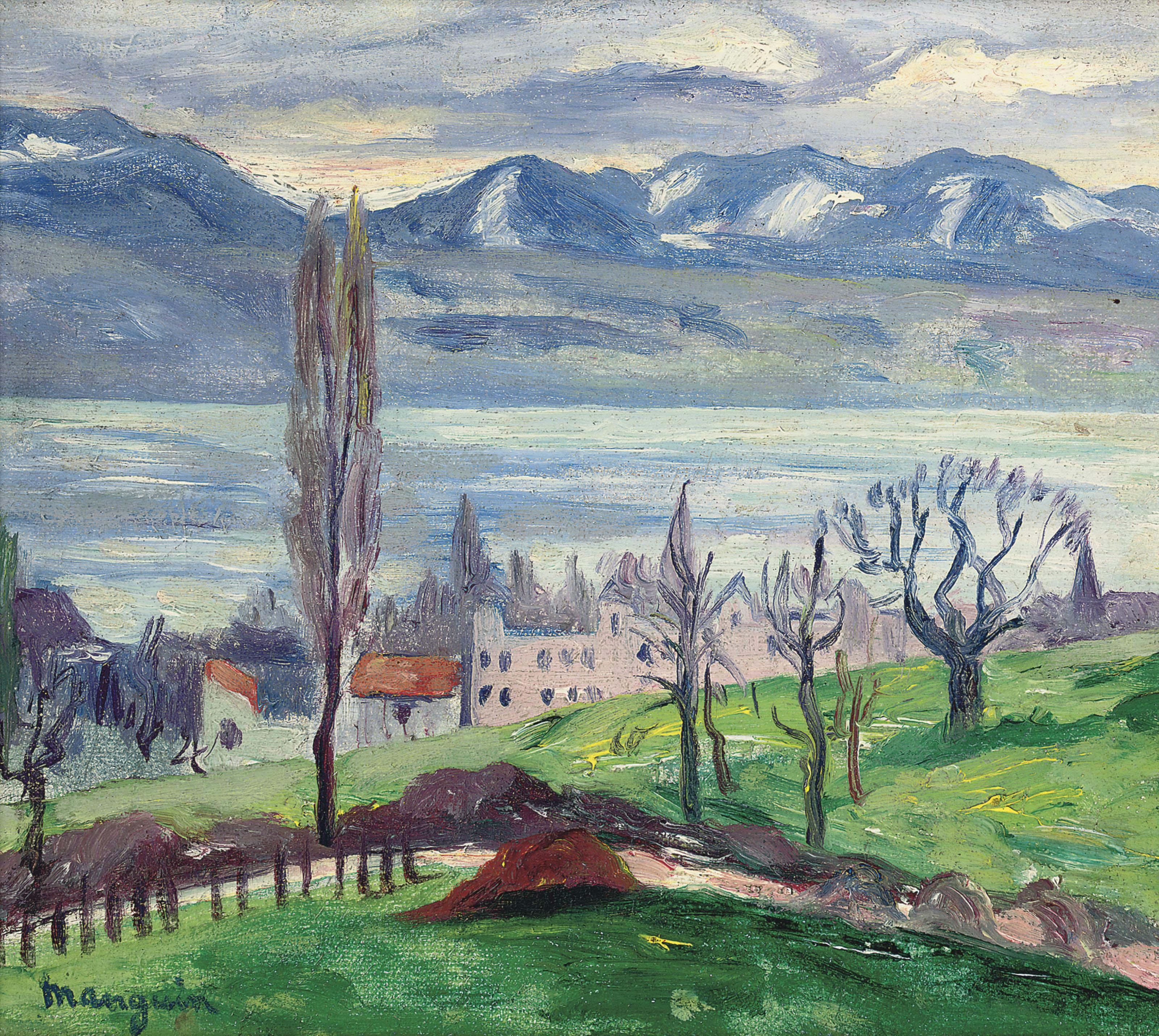 Lac de Bret, Suisse