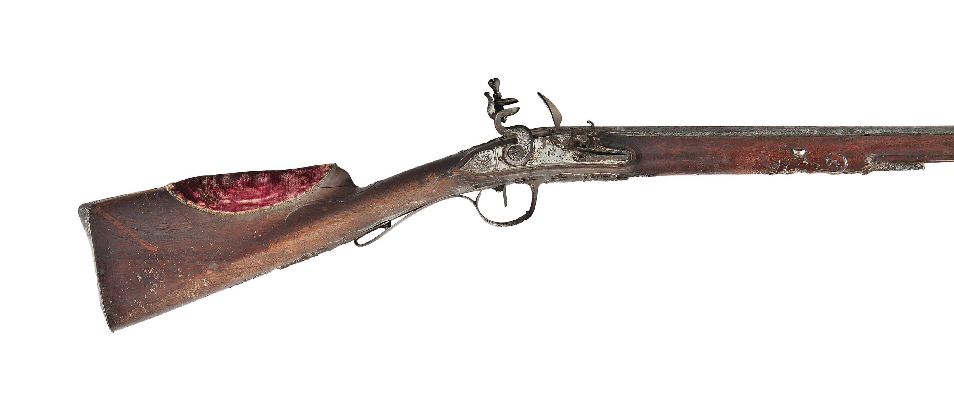 A FRENCH 20-BORE FLINTLOCK SPORTING GUN