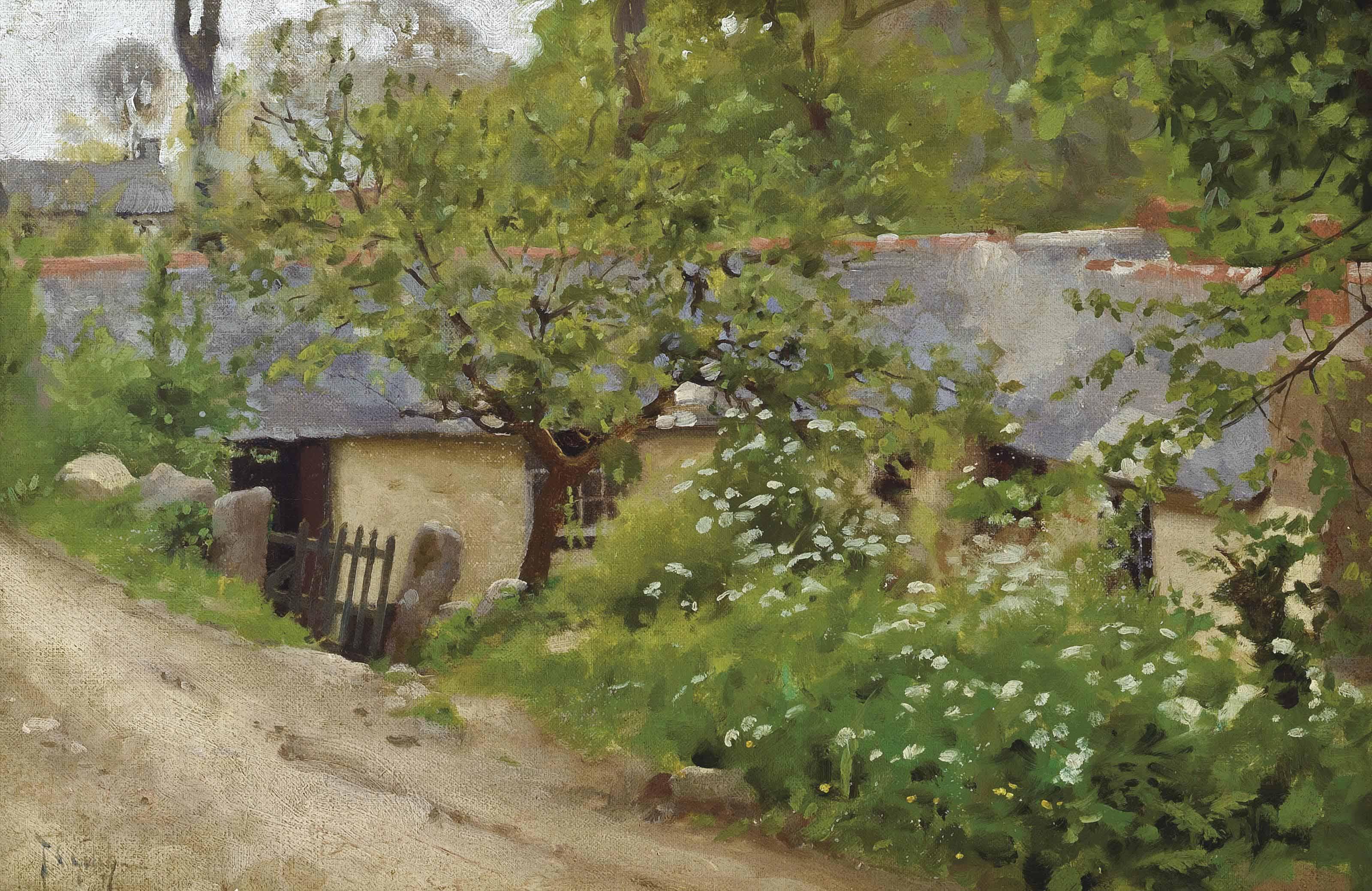 The cabin, Lamorna