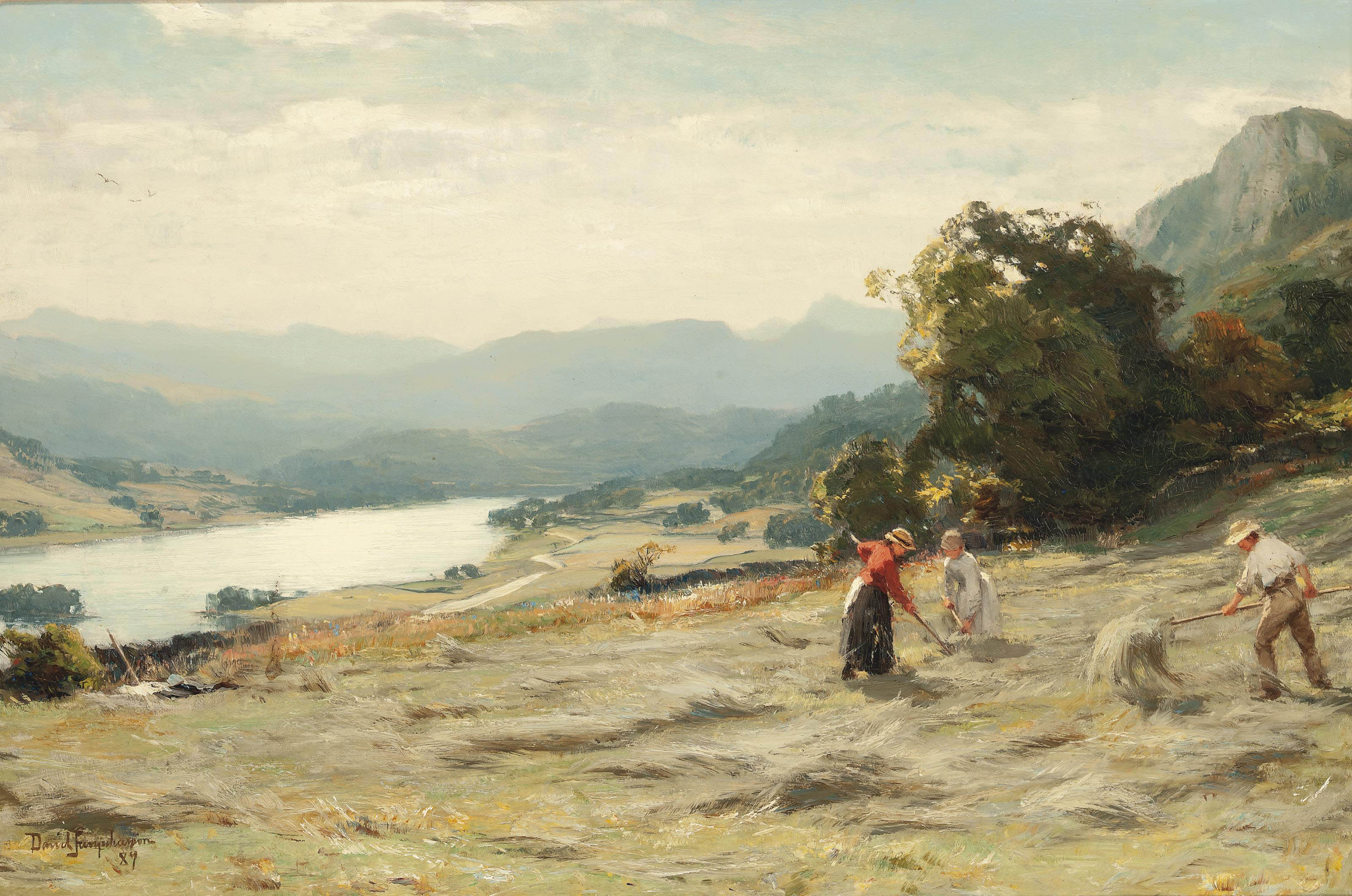 Rydal Water, Cumberland