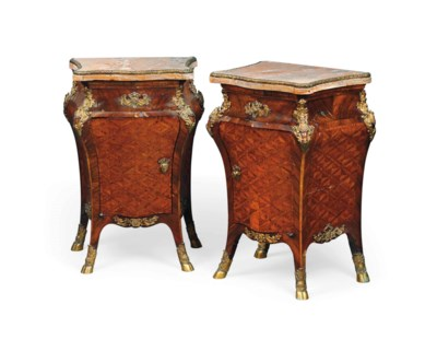 A PAIR OF ROYAL ITALIAN ORMOLU