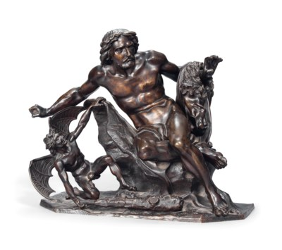 A FRENCH CONTINENTAL BRONZE GR
