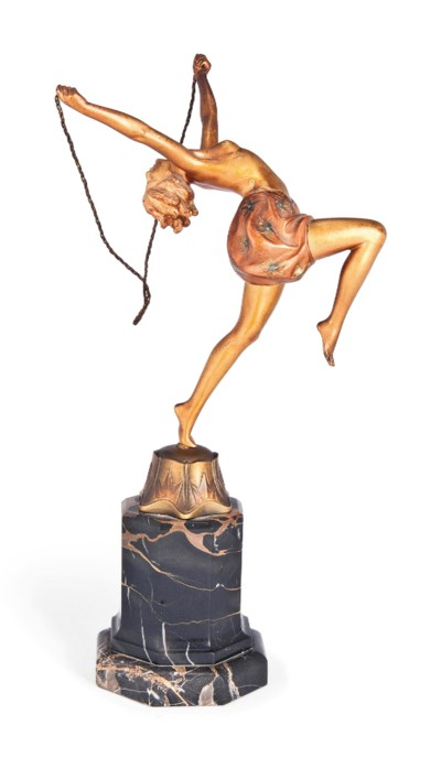 'TORCH DANCER' A FERDINAND PRE