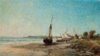 Low tide at Tréport