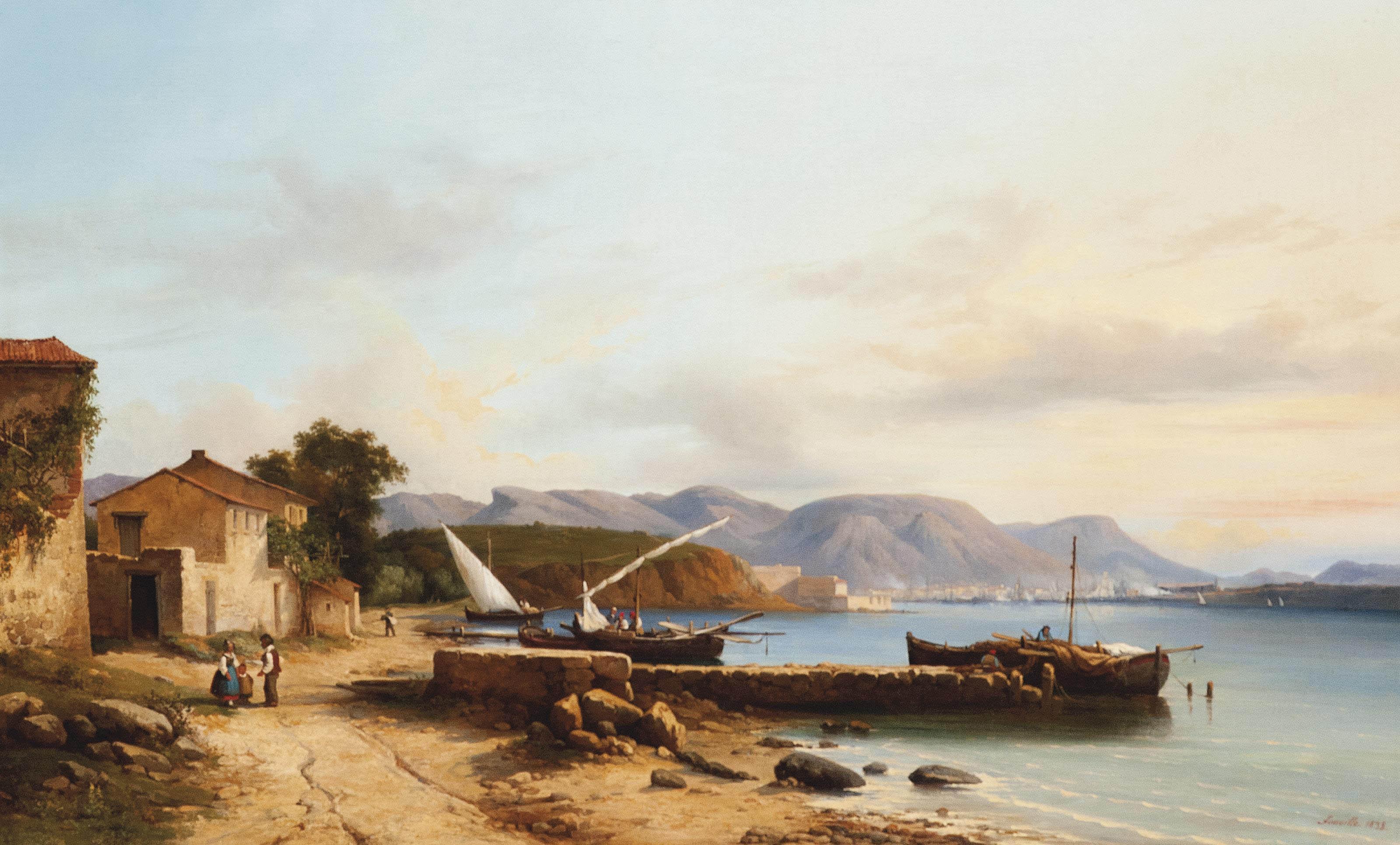 Nicolas Victor Fonville (French, 1805-1856)