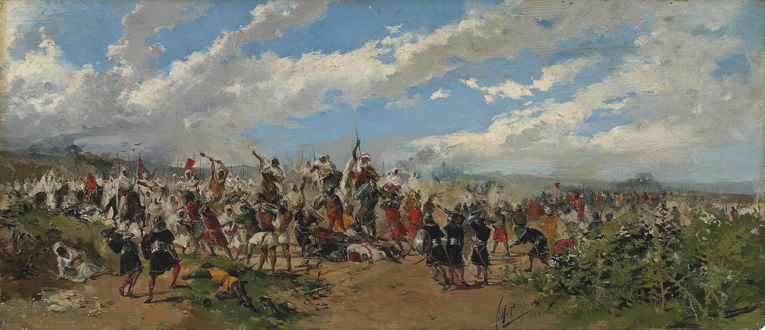 Battle of Guadalete, Spain (711-712 AD)