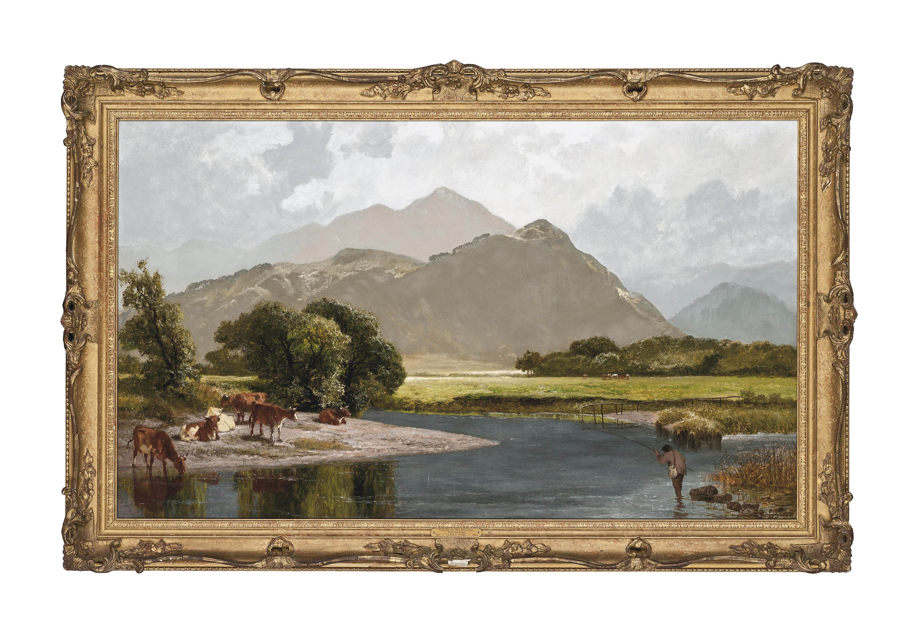 Fishing on the Derwent, Borrowdale