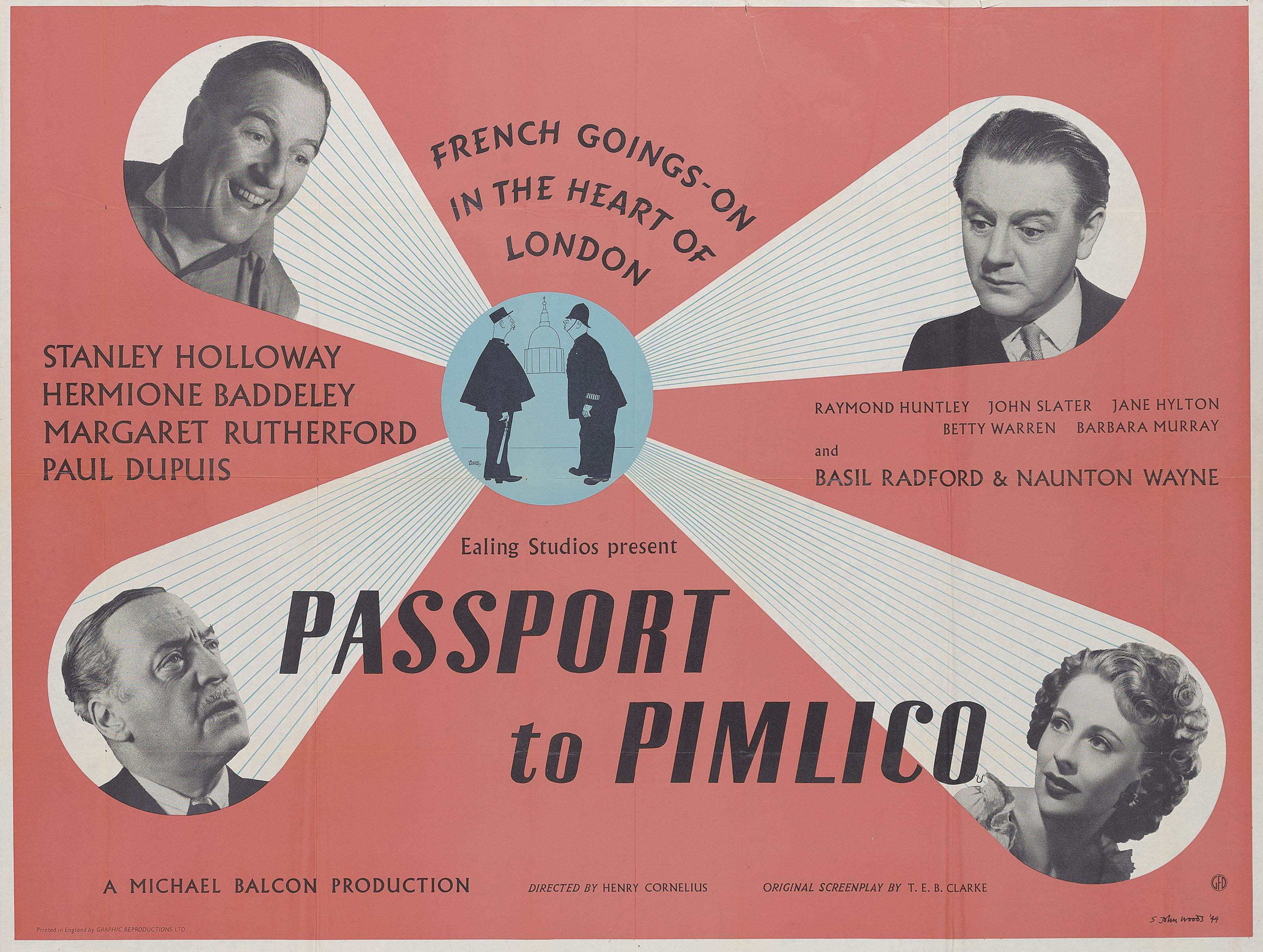 Passport To Pimlico | Posters, Signage & Advertising, posters ...