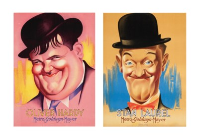Stan Laurel and Oliver Hardy