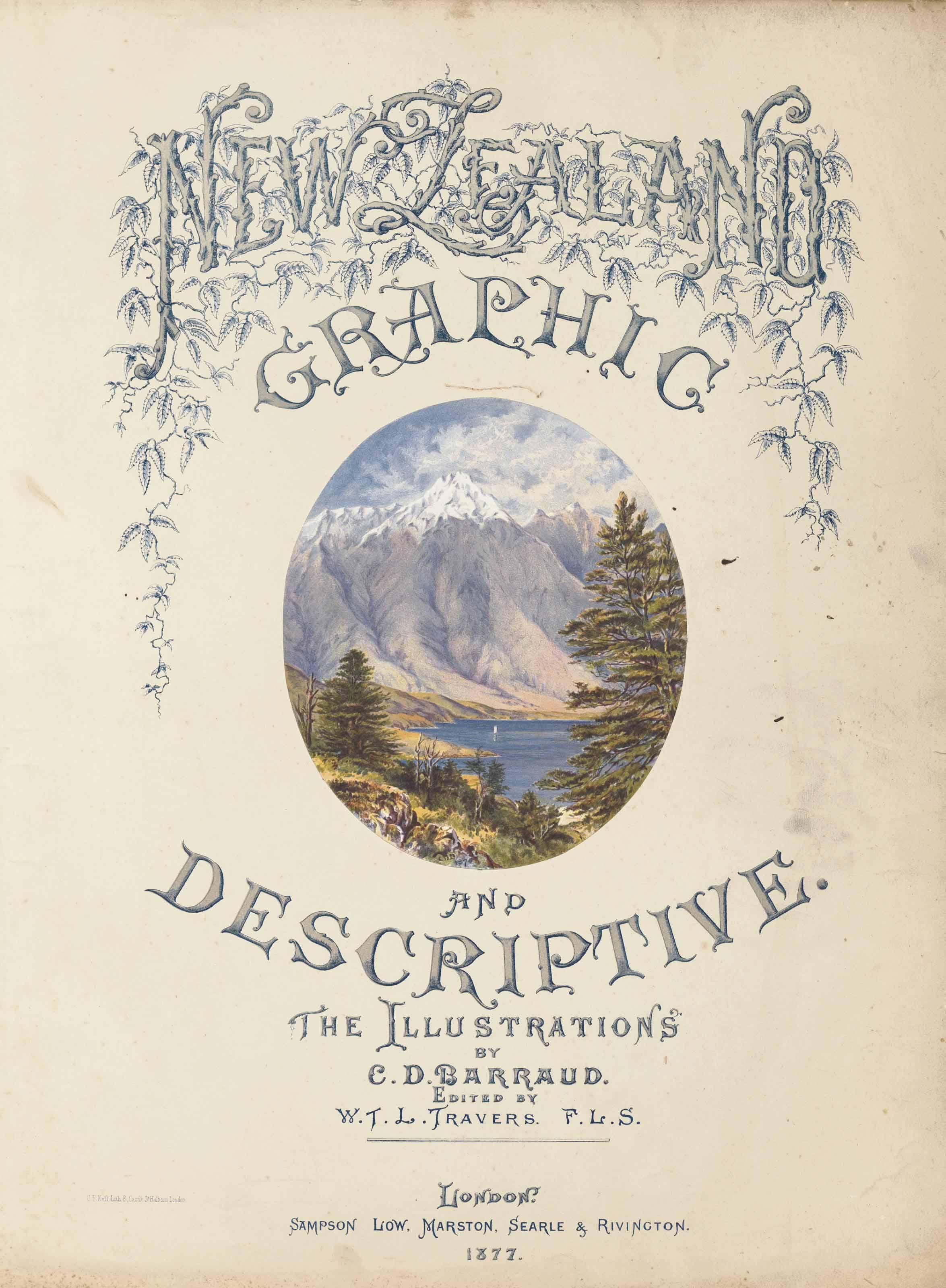 CHARLES DECIMUS BARRAUD AND WILLIAM T.L. TRAVERS