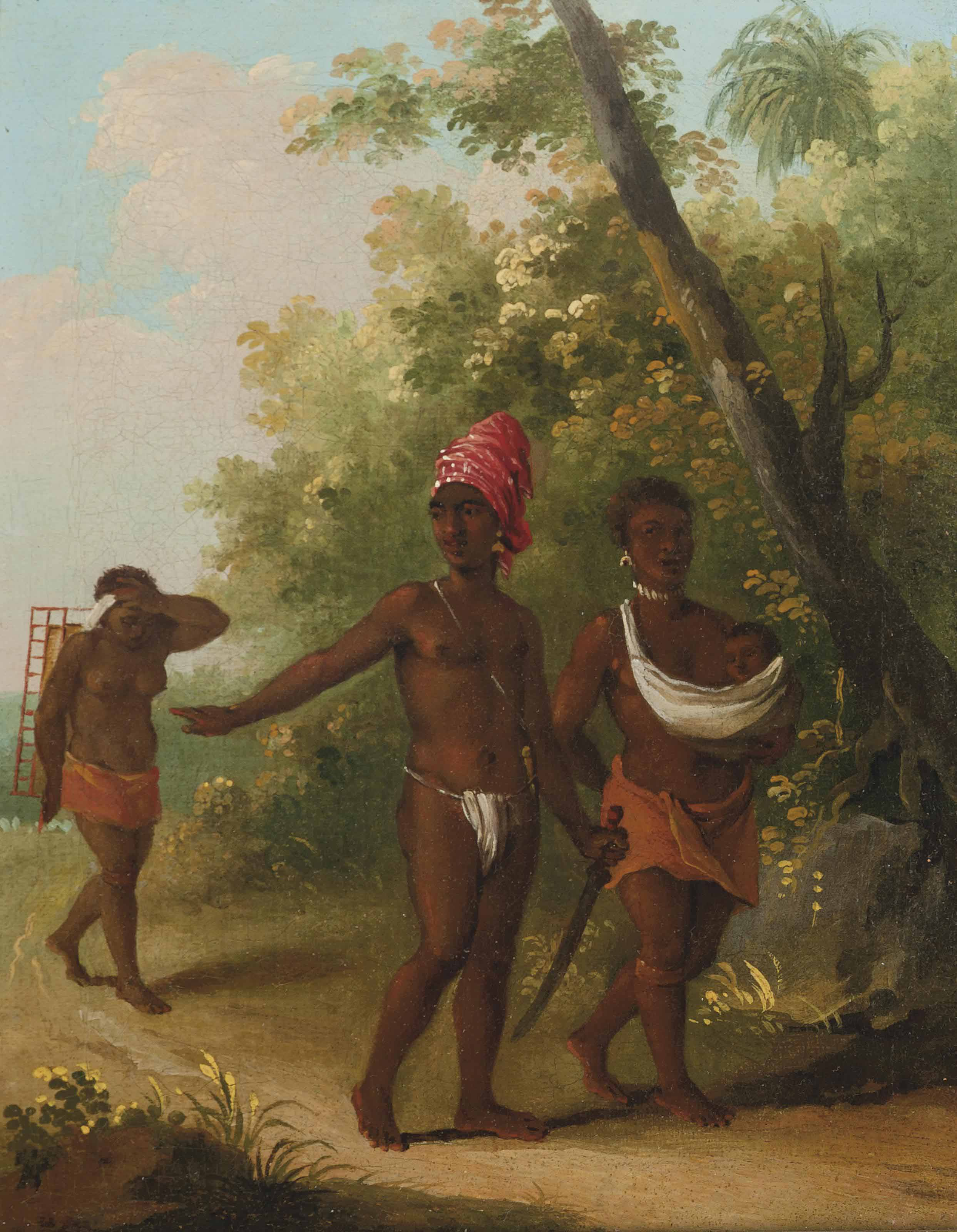A native family of St Vincent