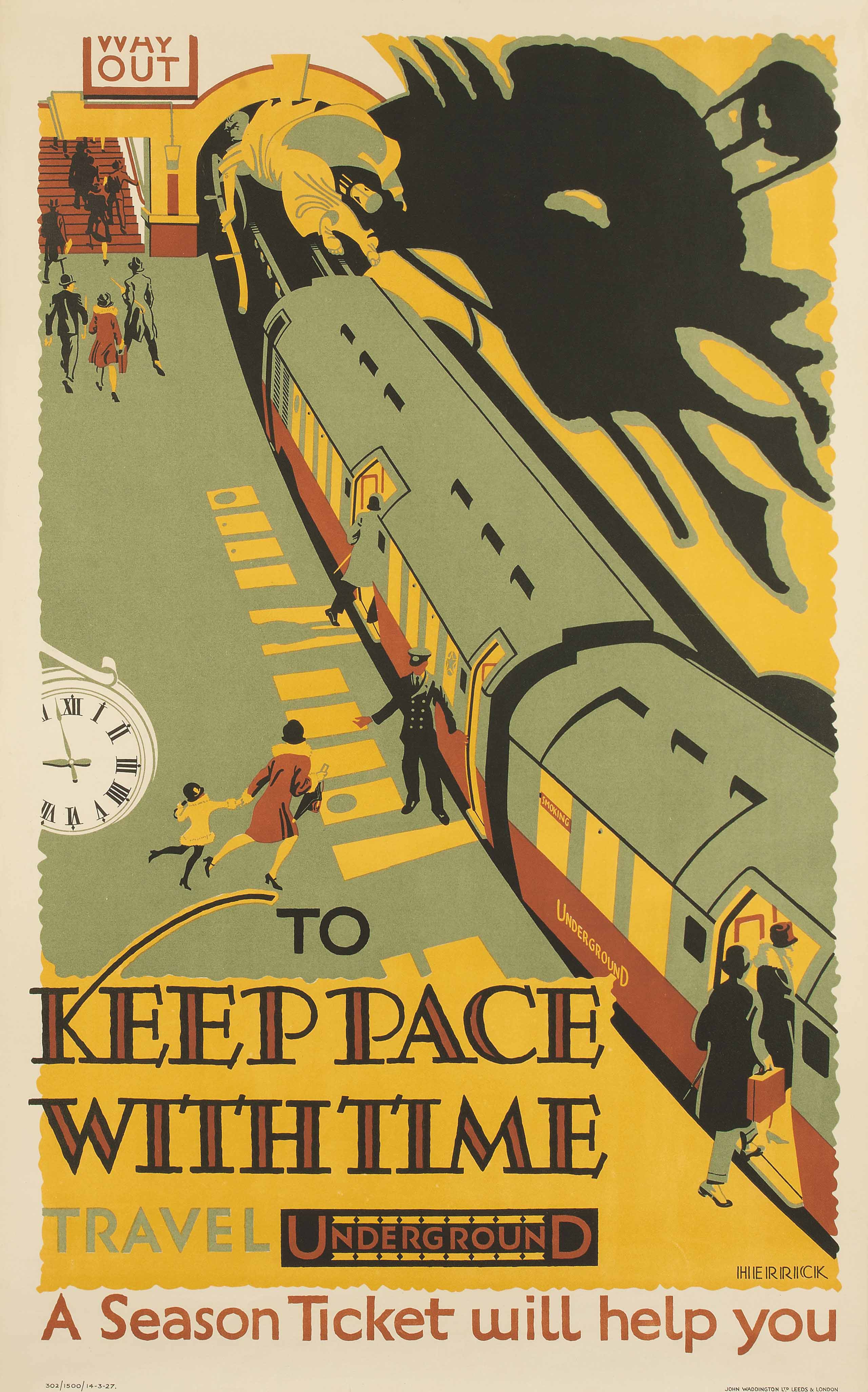 TO KEEP PACE WITH TIME