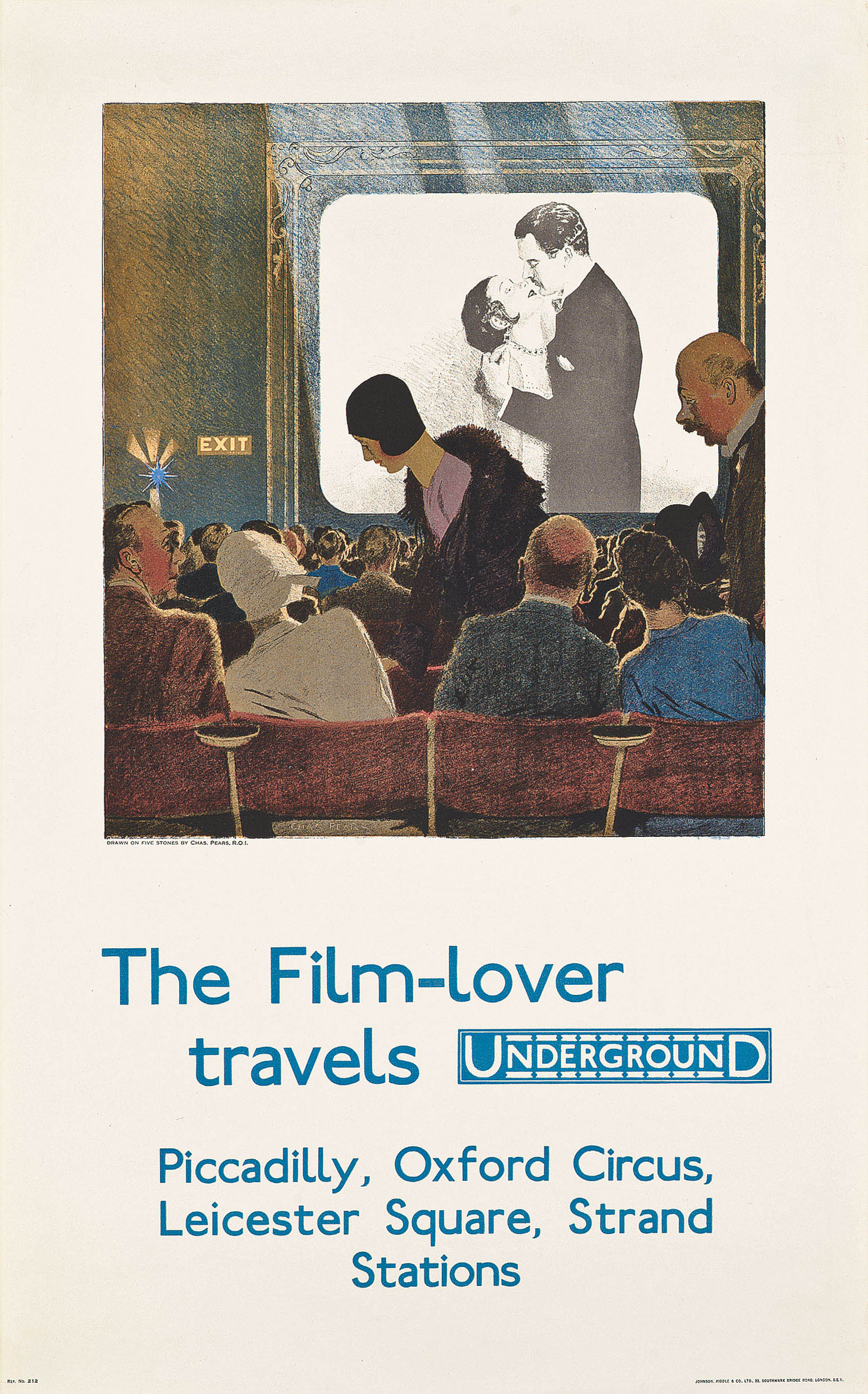 THE FILM-LOVER TRAVELS UNDERGROUND
