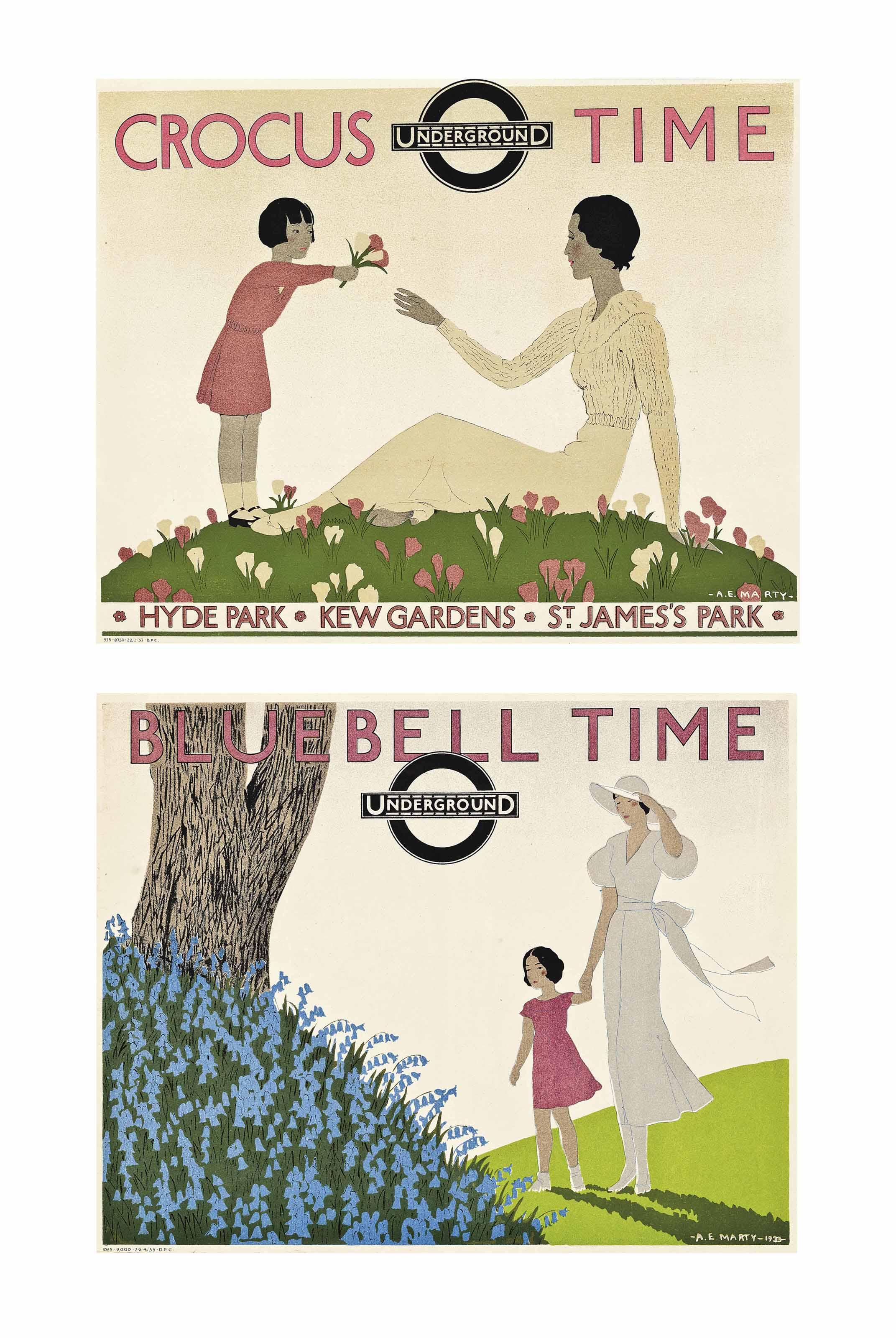 'CROCUS TIME', 'BLUEBELL TIME' & 'CHESTNUT SUNDAY'