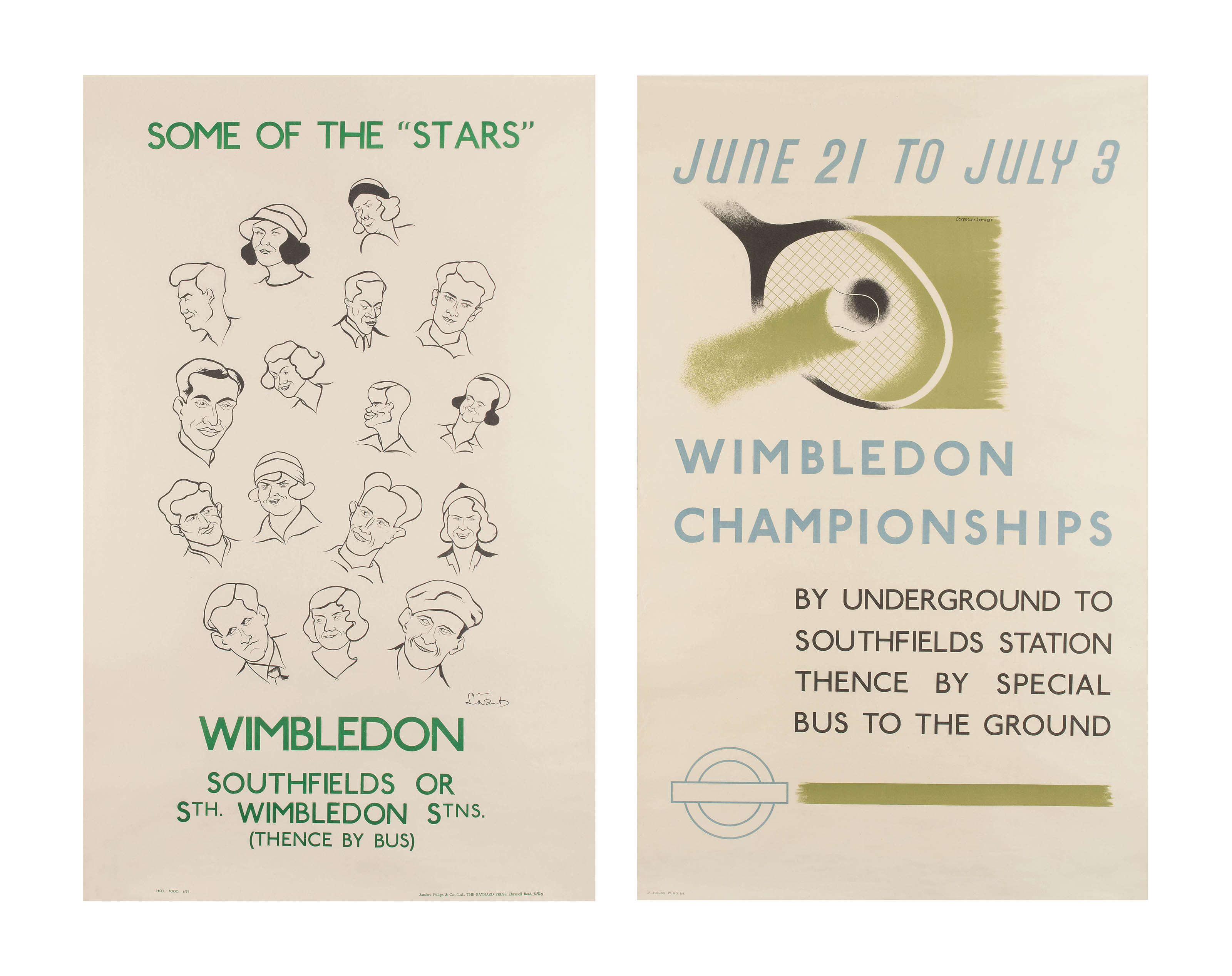 "SOME OF THE ""STARS"", WIMBLEDON"
