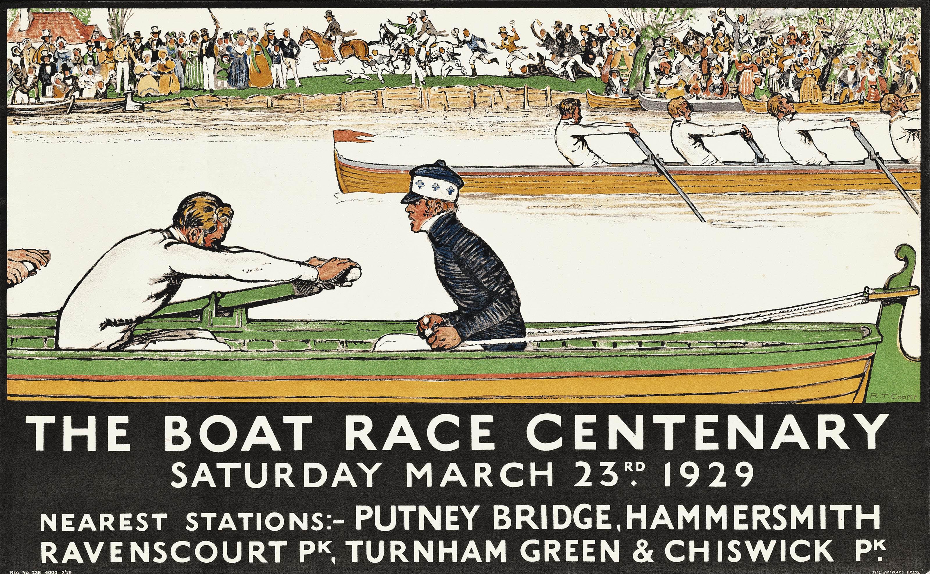 THE BOAT RACE CENTENARY