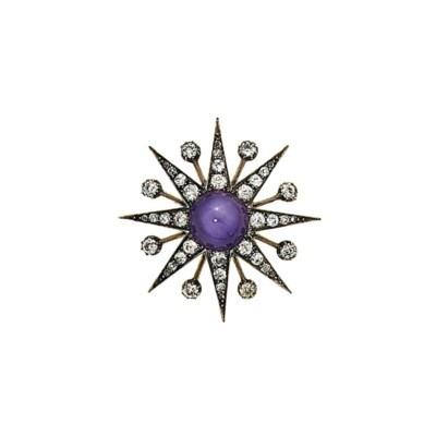 A late 19th century star sapph