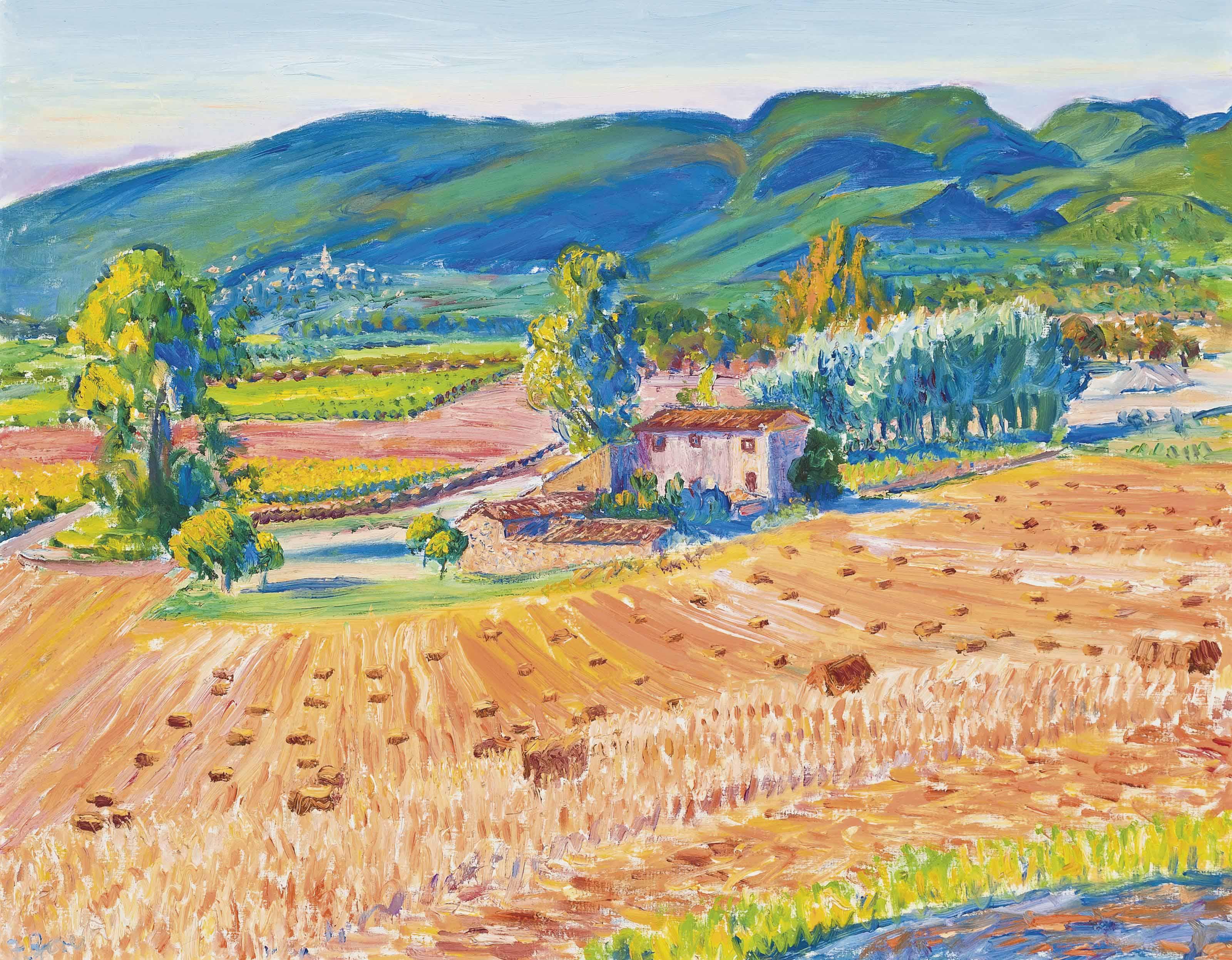 Landscape, Villars