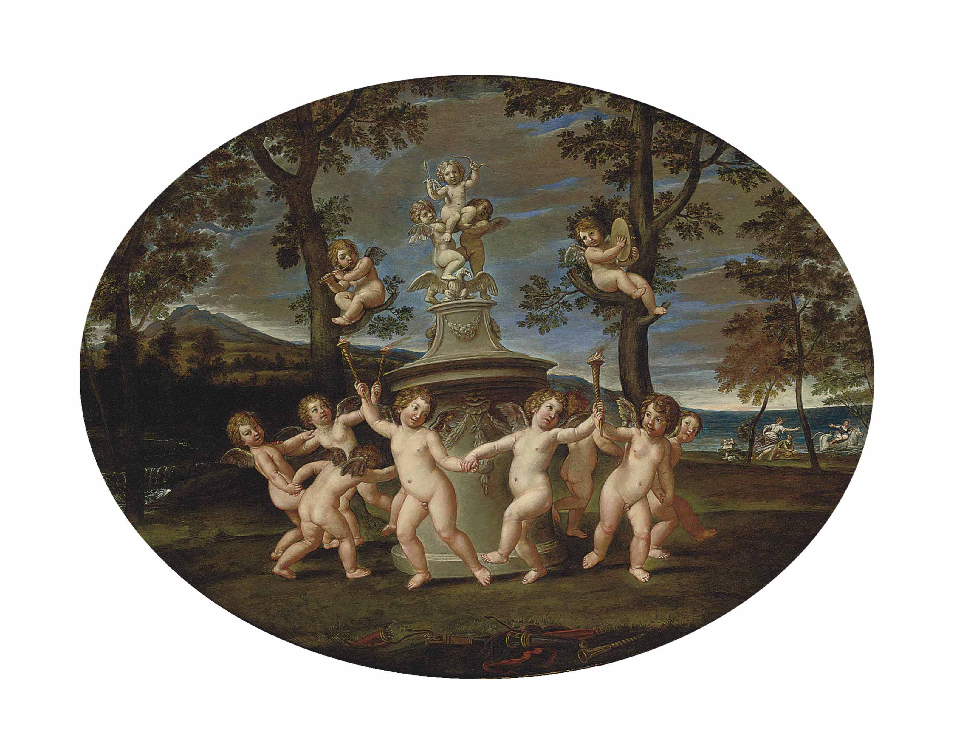 The Dance of the Cupids