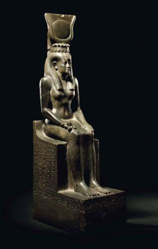 AN EGYPTIAN GREYWACKE ISIS
