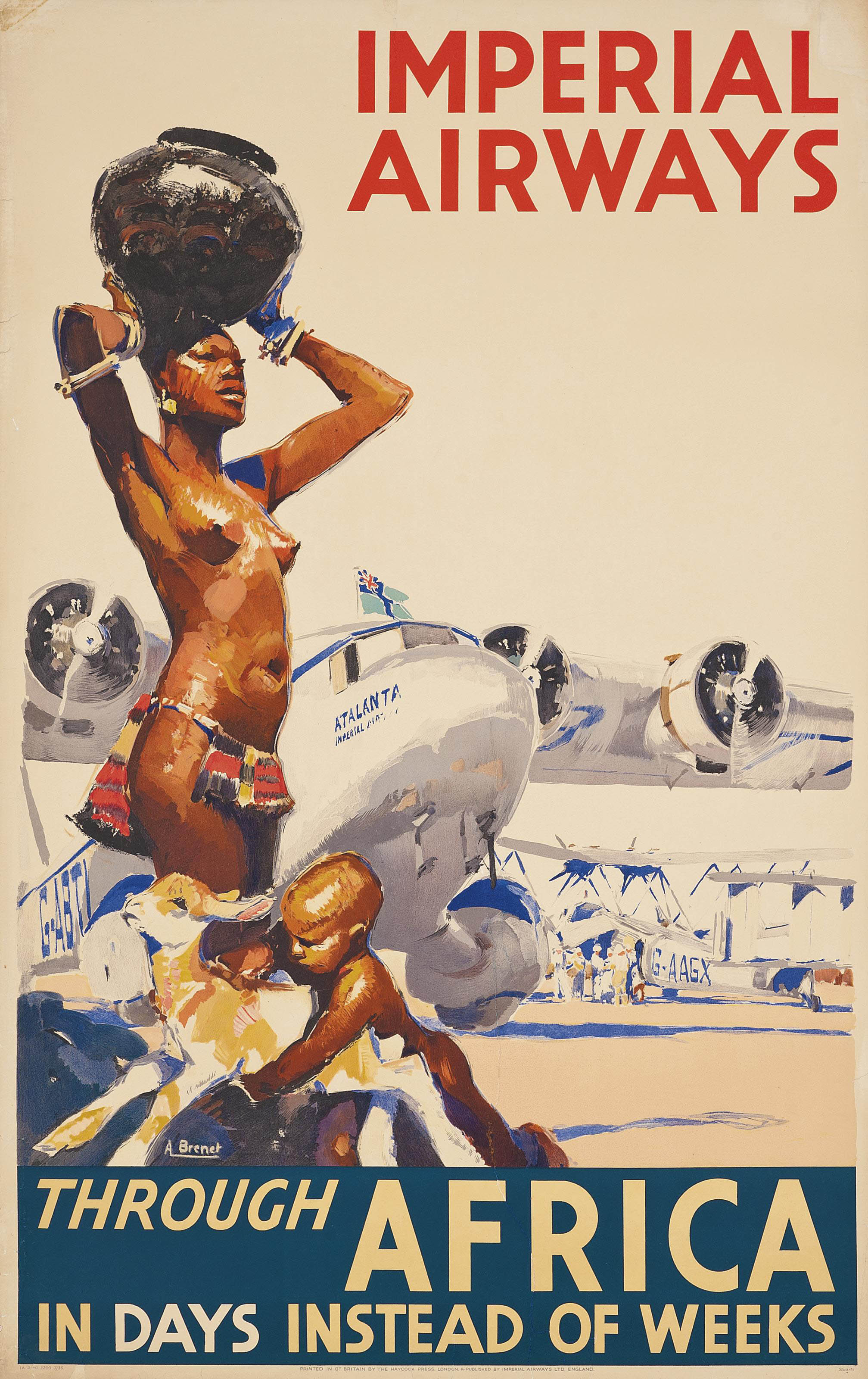 IMPERIAL AIRWAYS THROUGH AFRICA
