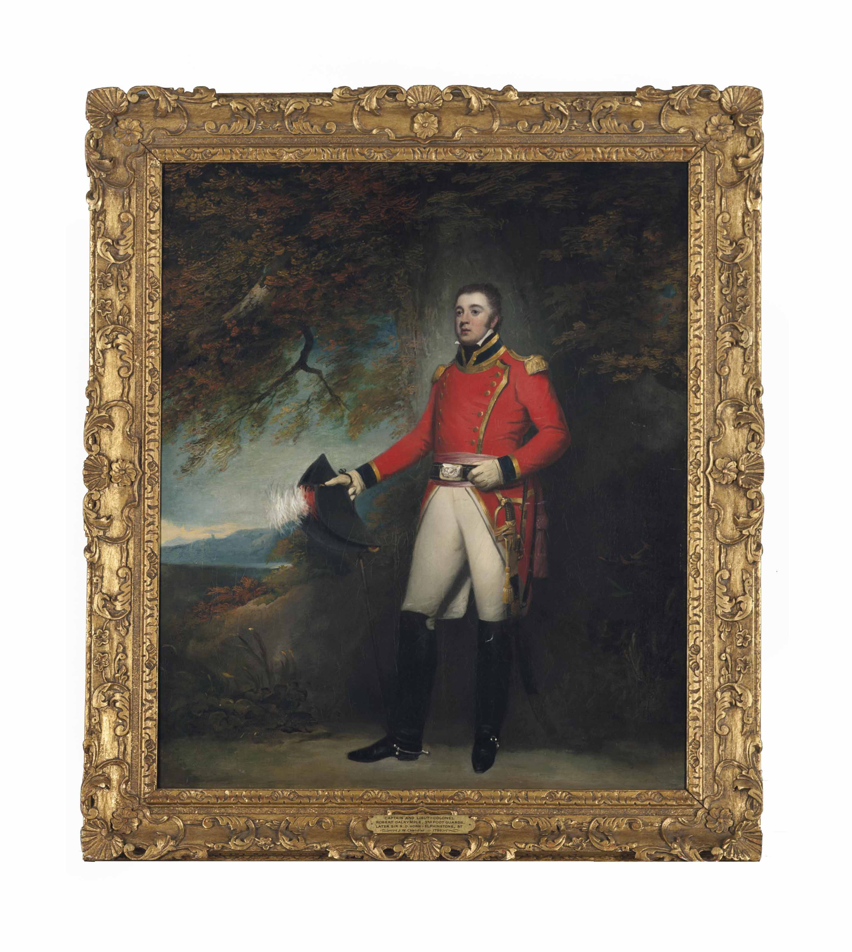 Captain and Lieutenant-Colonel Robert Dalrymple
