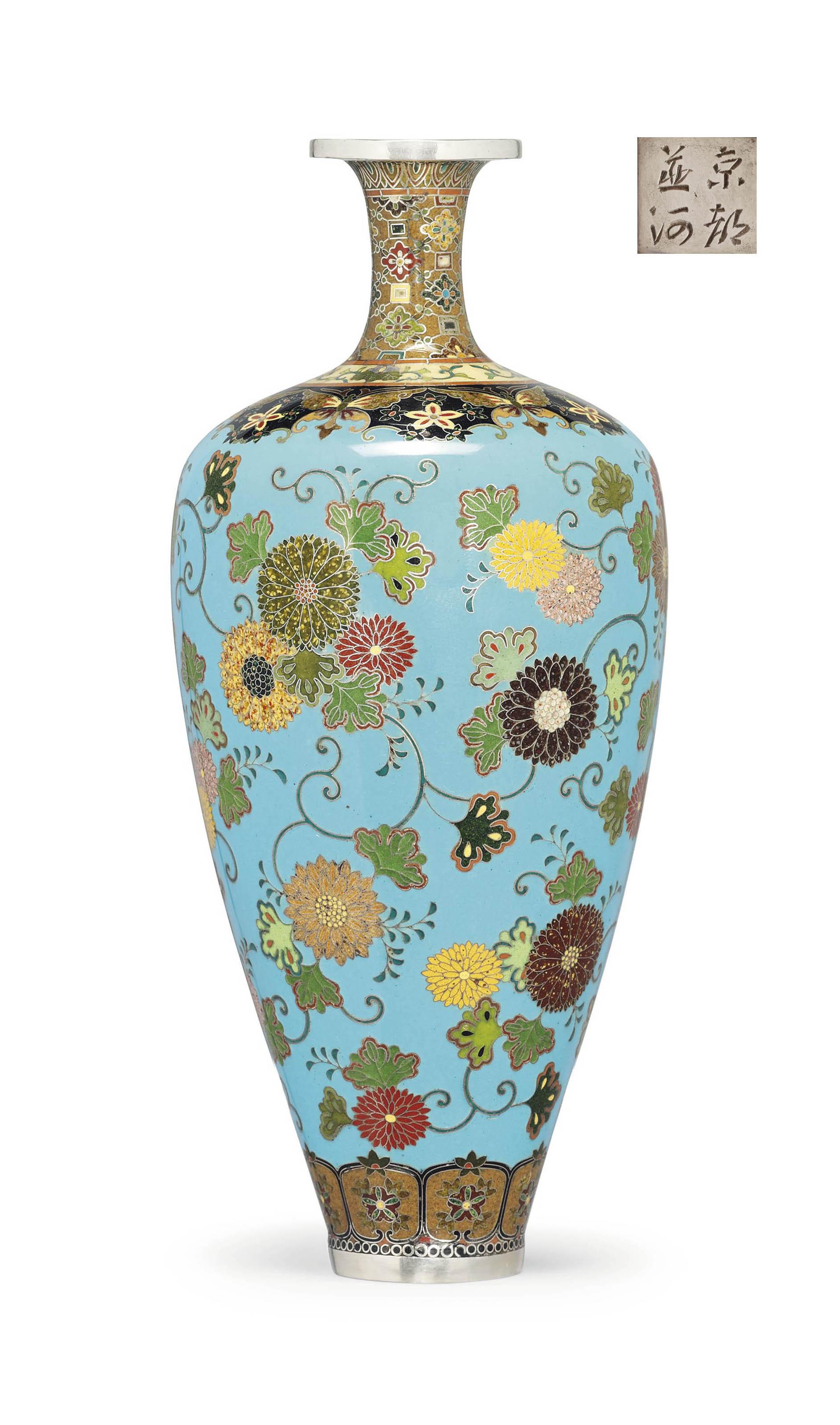 A Fine Cloisonné Vase