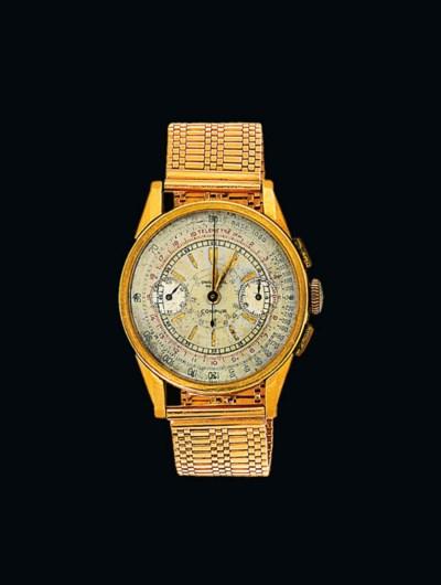 A chronograph wristwatch, by U
