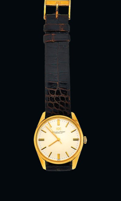 A presentation wristwatch from