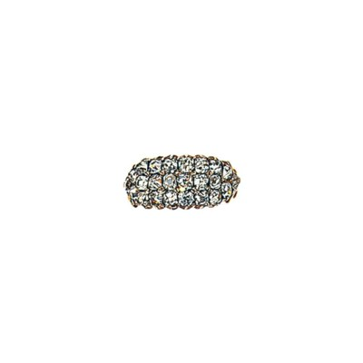 A mid 19th century diamond rin