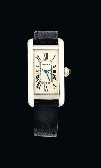 An 18ct. white gold automatic