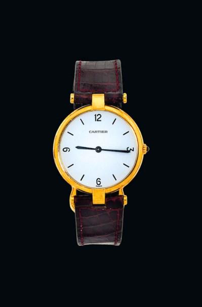 A quartz 'Vendome' wristwatch,