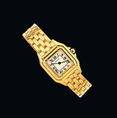 An 18ct gold quartz