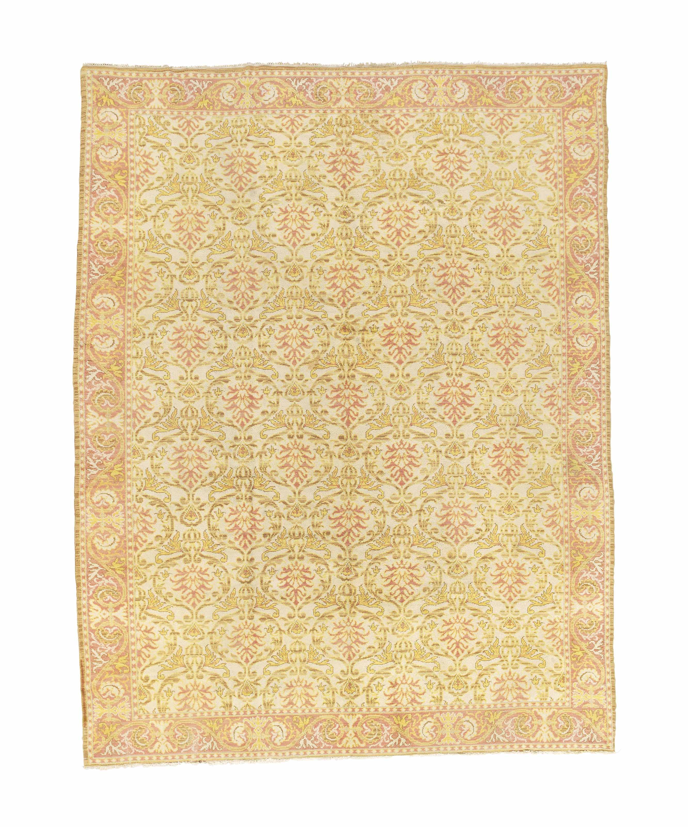 A CUENCA STYLE SPANISH CARPET