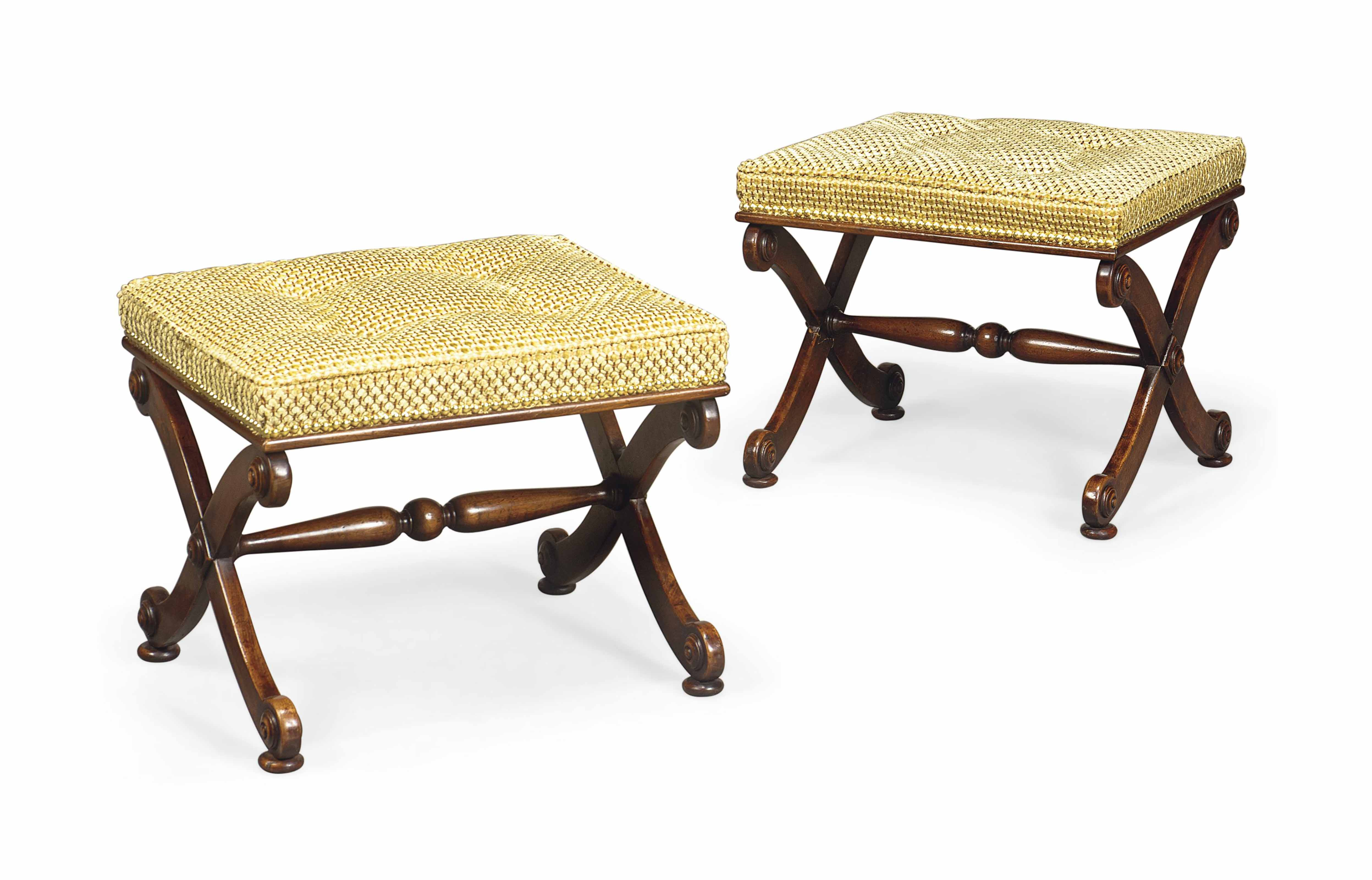 A PAIR OF VICTORIAN STAINED BI