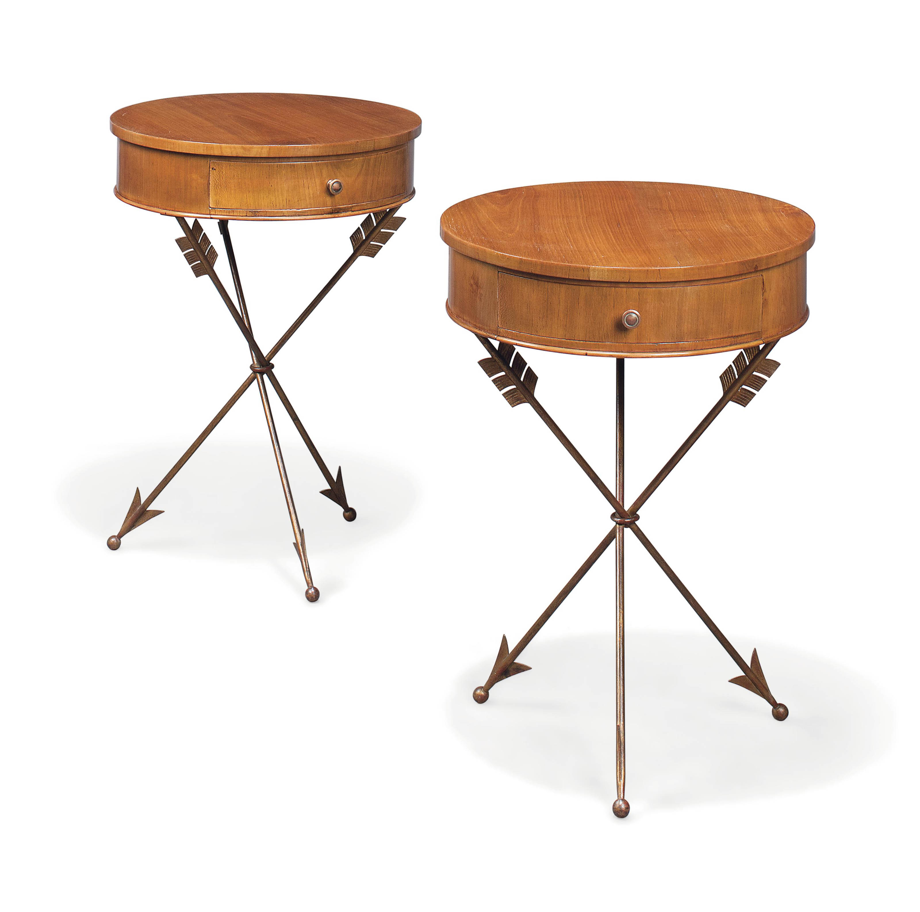 A PAIR OF OCCACSIONAL TABLES I