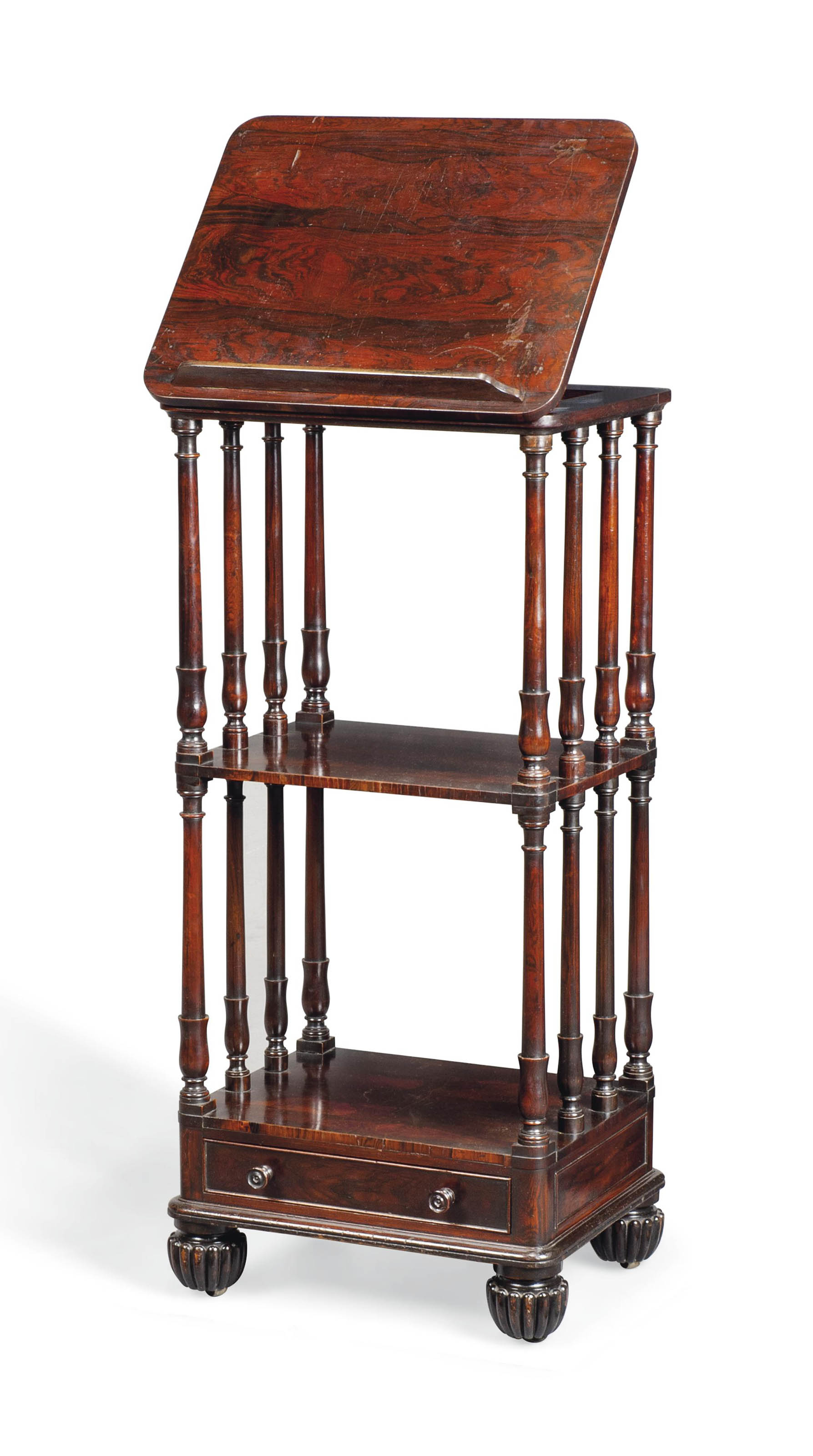 A GEORGE IV ROSEWOOD AND SIMUL