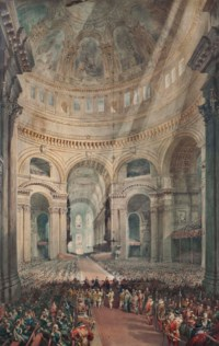 Thanksgiving Day, St Paul's Cathedral, 27 February 1872