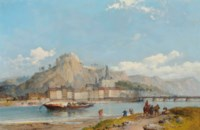 Dinant, on the Meuse